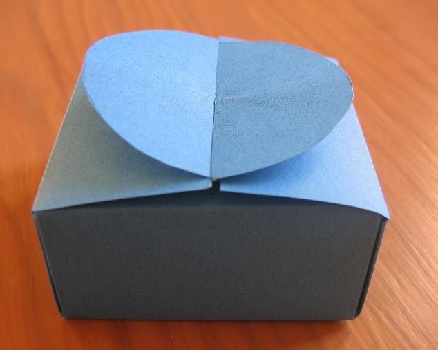 ORIGAMI : Boite en papier simple et rapide ! - YouTube | 506x634