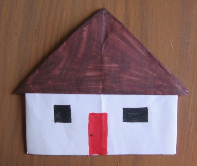 best origami maison facile gallery. Black Bedroom Furniture Sets. Home Design Ideas